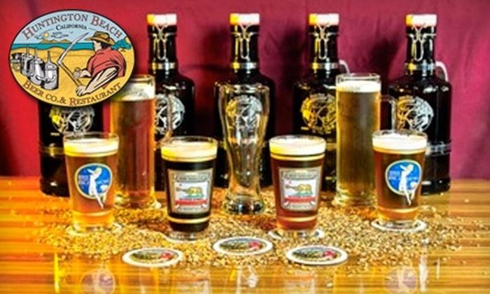 Huntington Beach Beer Company - Downtown Huntington Beach: $12 for $25 Worth of American Pub Fare and Pours at Huntington Beach Beer Company