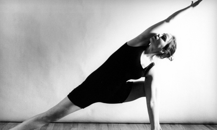 Dharma Studio - Northeast Coconut Grove: Five Yoga Classes or One Month of Unlimited Classes at Dharma Studio in Coconut Grove (Up to 77% Off)