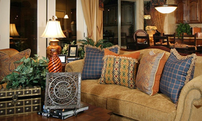 Model Home Furniture - Katy: Home Furnishings at Model Home Furniture in Katy (Up to 63% Off). Three Options Available.