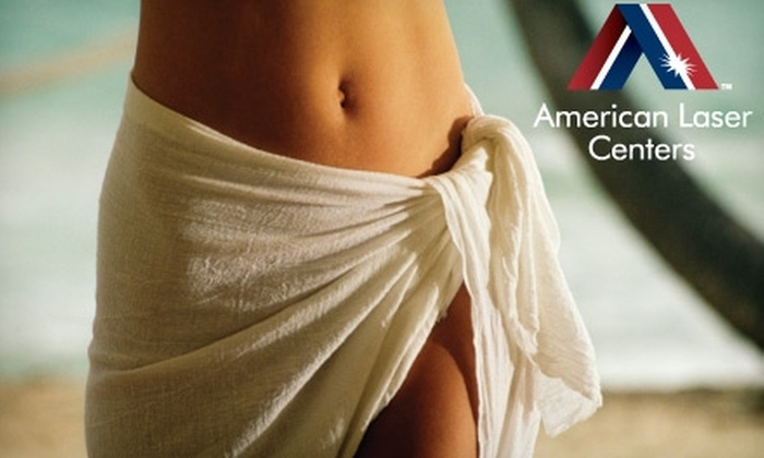 American Laser Centers - Multiple Locations: $165 for VelaShape Cellulite-Reduction and Body-Contouring Treatment at American Laser Centers