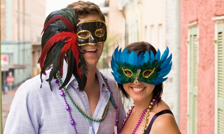 5th Annual Mardi Gras Jax: Mardi Gras Pub Crawl and Scavenger Hunt for Two on February 14 (Up to 50% Off)