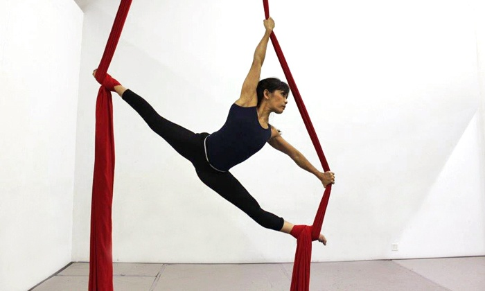 Ruby Karen Project - Costa Mesa: Four Aerial Yoga or Aerial Dance Fitness Classes at Ruby Karen Project (Up to 50% Off)