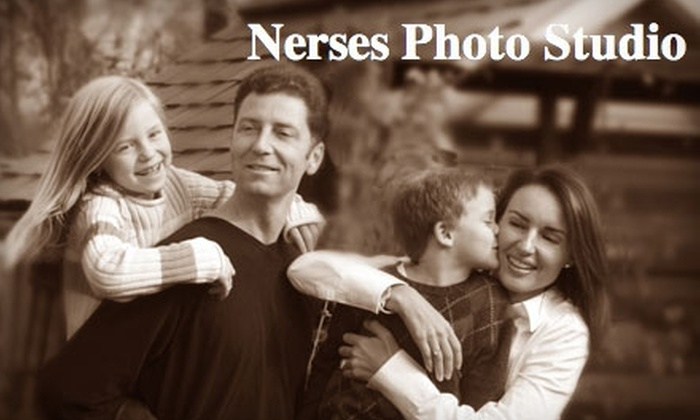 Nerses Photo Studio - Queenston: $45 For a Professional Portrait Session Including Two 8x10 Prints at Nerses Photo Studio ($134 Value)