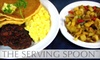 The Serving Spoon - Inglewood: $10 for $20 Worth of Brunch and Lunch Fare at The Serving Spoon in Inglewood