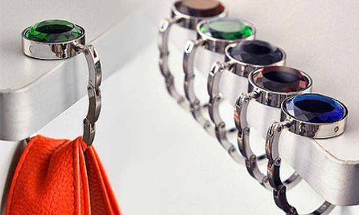 Heavenly Hook: Three, Six, or Nine Birthstone Purse Hooks from Heavenly Hook (Up to 76% Off)