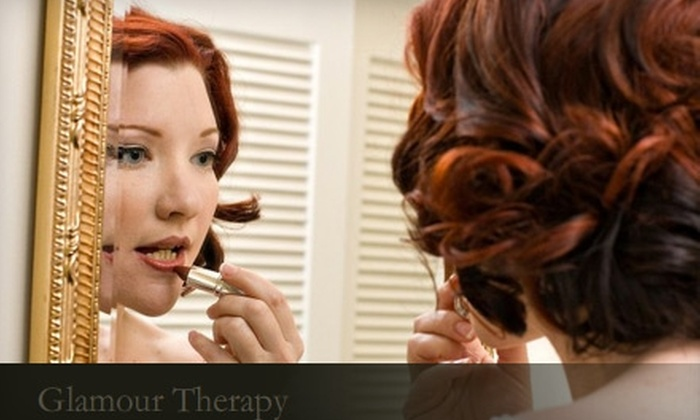 Glamour Therapy - New Orleans: $50 for $100 Worth of Hair and Makeup Services at Glamour Therapy