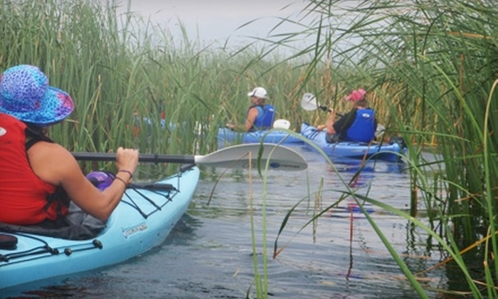 1000 Islands Kayaking - Gananoque: $48 for a Half-Day Guided Kayak Tour from 1000 Islands Kayaking (Up to $96.05 Value)