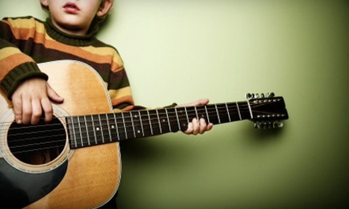 Over the Moon Music and More - Multiple Locations: $120 for a 10-Week Children's Music Class at Over the Moon Music and More ($240 Value)