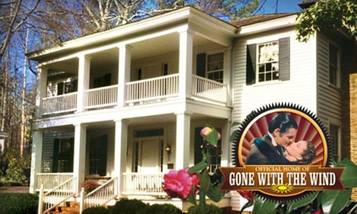 Peter Bonner's 'Gone With The Wind' Tour - Jonesboro: $18 for One Adult Ticket to Peter Bonner's 'Gone With The Wind' Tour Including Stately Oaks Plantation (Up to $36.95 Value)