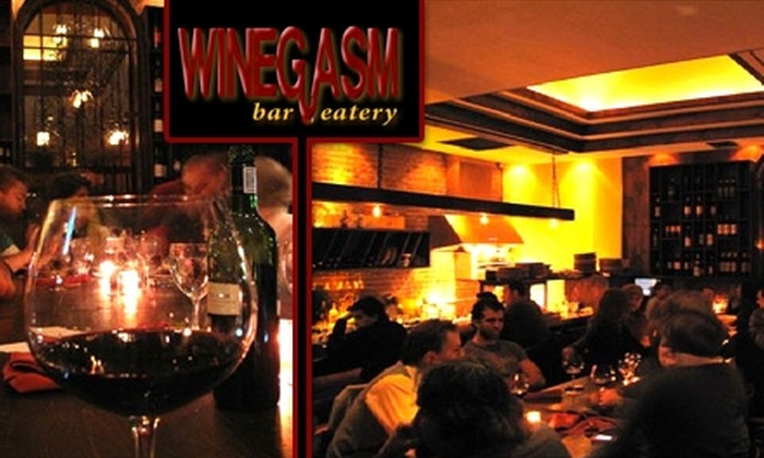 Winegasm Bar and Eatery - Astoria: $40 for a Three-Flight Wine-Tasting Class with Food Pairings at Winegasm Bar and Eatery ($80 Value)