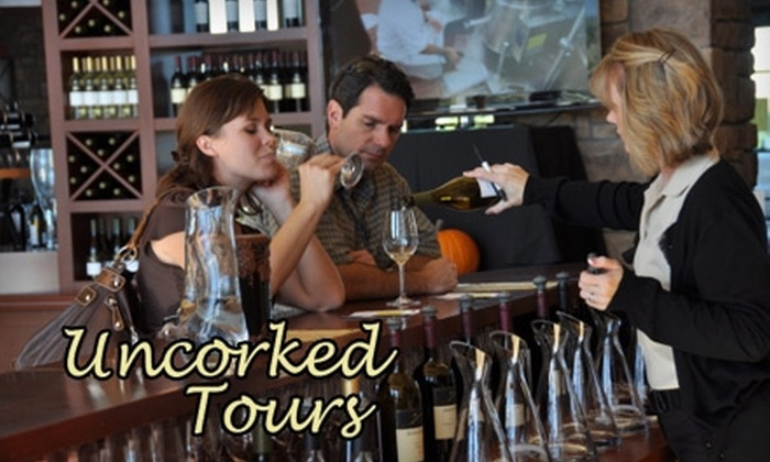 Uncorked Tours - Murrieta: $89 for a Chauffeured Wine Tour from Uncorked Tours ($229 Value)