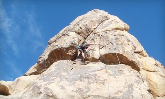 California Climbing Company - El Cajon: $45 for an Intro to Outdoor Climbing Class from California Climbing Company ($100 Value)