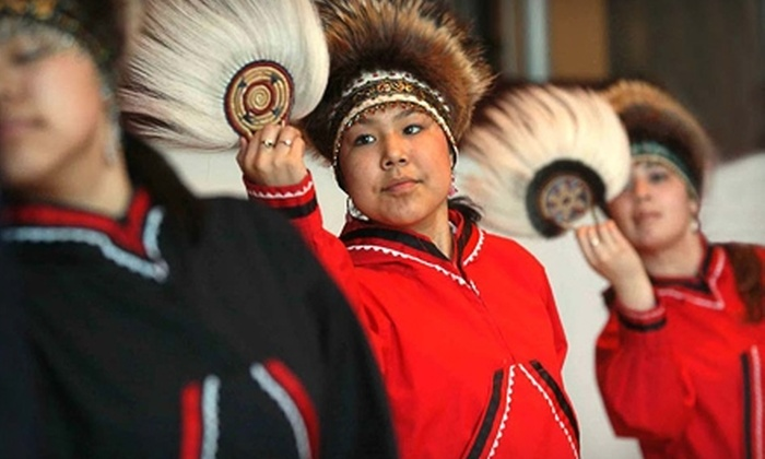 Alaska Native Heritage Center - Anchorage: Two Tickets to the Alaska Native Heritage Center. Two Options Available.