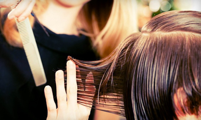Cost Cutters Family Hair Salon - Pinebrook: Two Haircuts or One Haircut with Full Highlights at Cost Cutters Family Hair Salon in Park City (Up to 67% Off)
