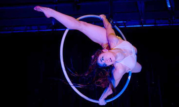 Emerald City Trapeze Arts - Industrial District East: $17 for Aerial-Arts Show and Dance Party at Emerald City Trapeze Arts on June 29 at 9 p.m. ($35 Value)