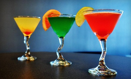Martinis-and-Tapas Meal for 2 - 9 Promenade in Bluffton