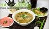 Ha Long Phở Noodle House - Kalihi - Palama: $6 for $13 Worth of Fresh Vietnamese Fare at Ha Long Phở Noodle House