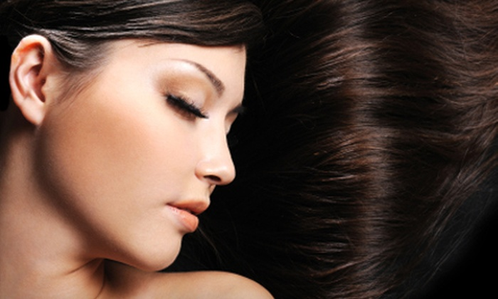 Salon 647 - West Tatnuck: Highlights, Haircut, and Style or Three Facial Waxing Sessions at Salon 647
