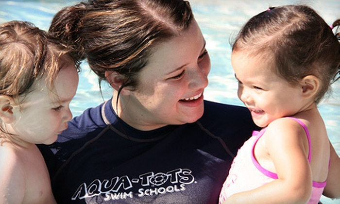 Aqua-Tots Swim School - Central Oklahoma City: One Month of Swim Lessons or an Eight-Day Fast-Track Program at Aqua-Tots Swim School (Up to 58% Off)