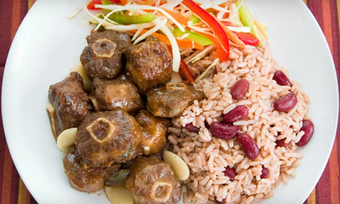 Mystic Jamaica Restaurant - Stoney Run: Jamaican Cuisine for Two or Four at Mystic Jamaica Restaurant in Newport News (Up to 53% Off)