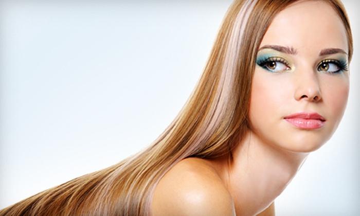 Salon Joel - Phoenix: Brazilian Blowout Package with Haircut or Brazilian Blowout at Salon Joel in Scottsdale (Up to 60% Off)