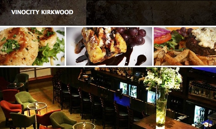 Vinocity Wine Bar - Kirkwood: $15 for $35 Worth of Upscale Food, Wine, & More at Vinocity