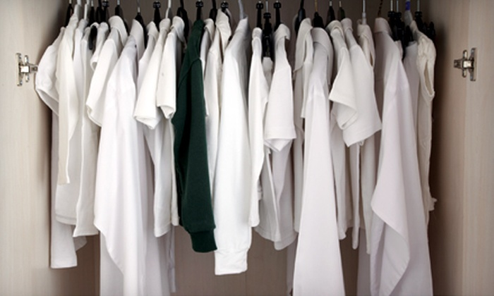 Dry Cleaning Station - Owasso: $10 for $22 Worth of Eco-Friendly Dry-Cleaning & Laundry Services With Pick-up & Delivery at Dry Cleaning Station