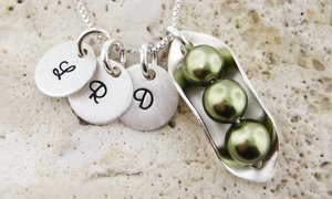 Peas In A Pod Sterling Silver Necklace From Jc Jewelry Design (up To Half Off). Four Options Available.