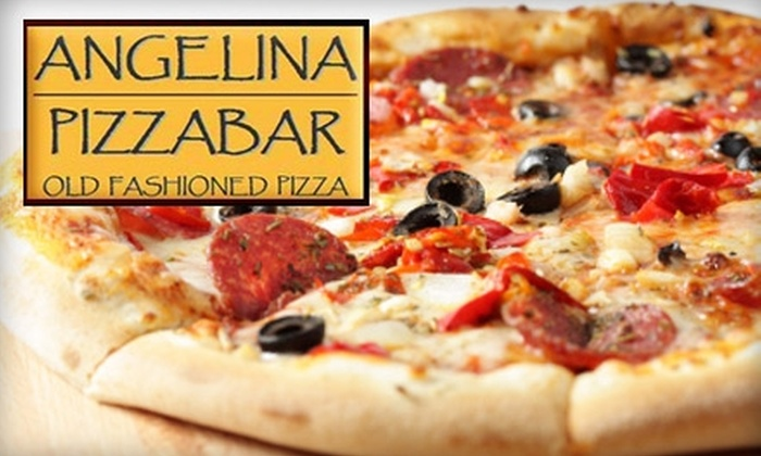 Angelina Pizzabar - Upper West Side: $10 for $20 Worth of Italian Fare and Drinks at Angelina Pizzabar