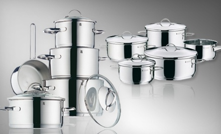 Provence Plus Nine-Piece Cookware Set (a $400 value) - Stainless Steel Nine-Piece Cookware Set in