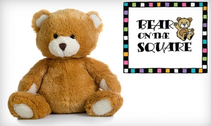 Bear on the Square - Historic Hudson: $12 for $25 Worth of Stuff-a-Bears, Toys and More at Bear on the Square