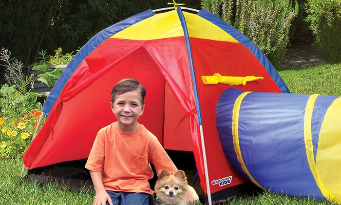 Discovery Kids Adventure Play Tent Discovery Kids Adventure Play Tent ...  sc 1 st  Groupon & Discovery Kids Adventure Tent | Groupon Goods