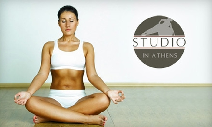 Studio in Athens - Athens-Clarke County unified government (balance): $39 for One Private Therapeutic Yoga Lesson or Five Drop-in Yoga Classes at Studio in Athens (Up to $80 Value)