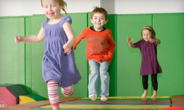 Kidville - Multiple Locations: $49 for a Play Package with Three Classes and Three Play Visits at Kidville (Up to $170 Value). Two Locations Available.