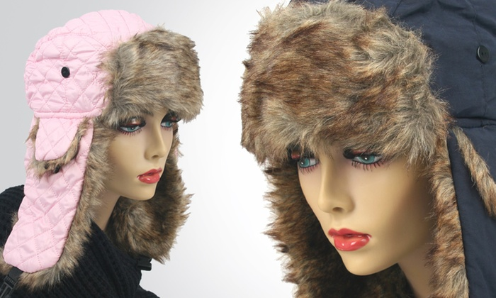 K&J Trapper Hats: K&J Women's Trapper Hats with Ear Flaps. Multiple Styles and Colors Available. Free Returns.
