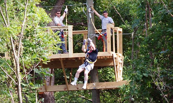Adventure Park Zipline Pictures