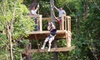 Your Adventure Inc. at DFW Adventure Park - Justin-Roanoke: $20 for a Zip-Line Tour at Your Adventure Inc. at DFW Adventure Park (Up to $55 Value)