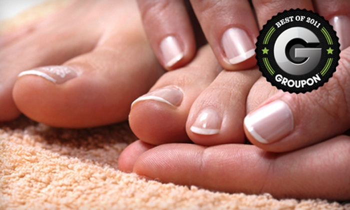 Coiffure on Phillips - Downtown: $30 for a Spa Mani-Pedi at Coiffure on Phillips ($70 Value)