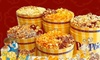 Poptions - Saint Louis: $15 for $30 Toward Gourmet-Popcorn Tins or $5 for $10 Worth of Gourmet-Popcorn Bags at POPtions!