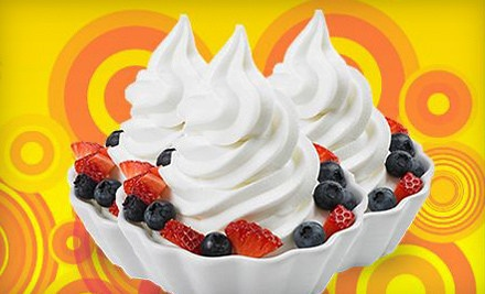 $10 Groupon to Bad Frog Frozen Yogurt - Bad Frog Frozen Yogurt in Dublin