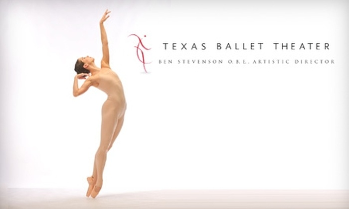 Texas Ballet Theater - Multiple Locations: $34 for an Orchestra Seat at the Texas Ballet Theater's Mixed Repertoire Performance on February 18 or February 20 ($69 Value)