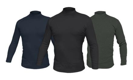 Pack de 2 jerseis con cuello alto para hombre Liabel