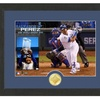 "KC Royals 2015 MLB World Series MVP 12""x15"" Bronze-Coin Photo Mint"