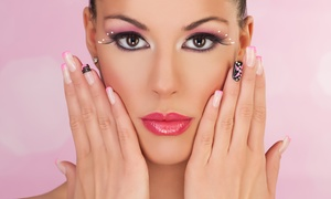 Style Hair Salon: Full Set of Gel Nails, Shellac or French Manicure at Style Hair Salon