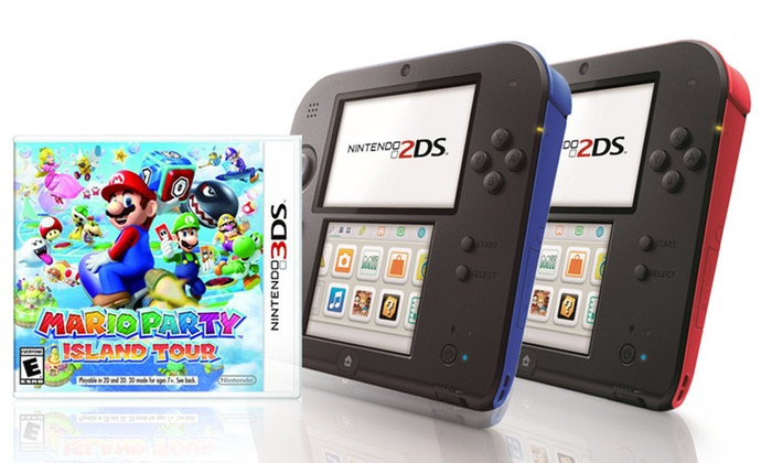 Nintendo 2DS System and Game | Groupon Goods