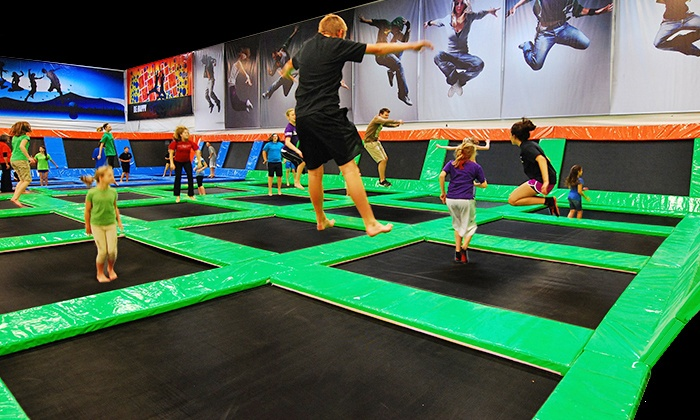 Elevated Sportz - Bothell-Mill Creek: 90 Minutes of Play Time, Jump Time or Both at Elevated Sportz (31% Off)