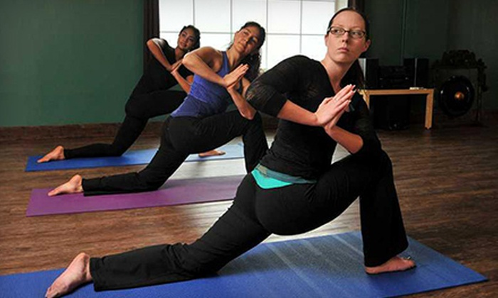 Imagine Yoga Studio - Evergreen: One Month of Unlimited Yoga or 10 Yoga Classes at Imagine Yoga Studio (Up to 65% Off)