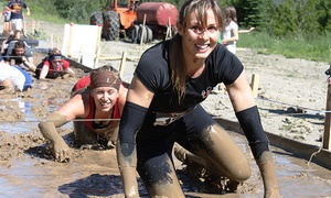 Mudd, Sweat & Tears - Moncton, NB: CC$75 for One Obstacle Mud Run Ticket to Mudd, Sweat & Tears (CC$113.35 Value)