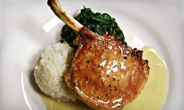The Grille by Piropos - Parkville: Dinner for Two or Four or $15 for $30 Worth of South American Food at Piropos Grille