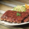52% Off Barbecue and Beverages at Red Hot & Blue